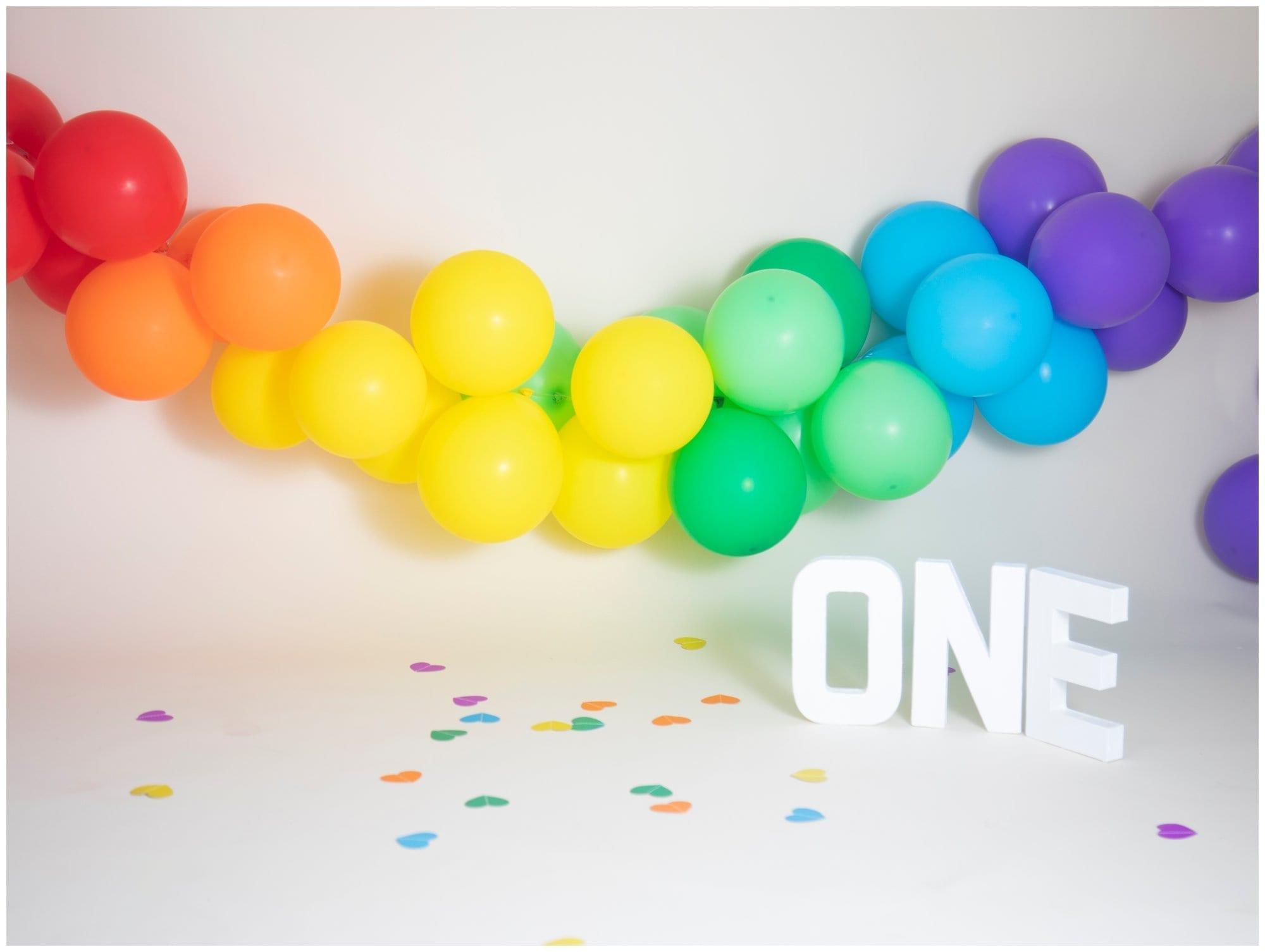 Rainbow Themed Cake Smash